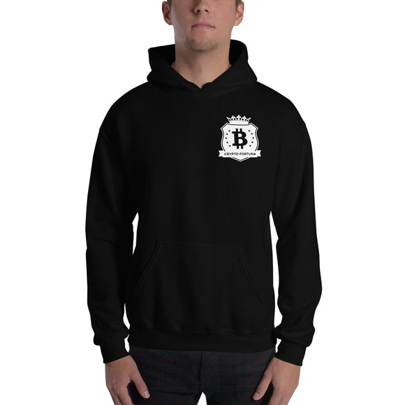 Crypto Fortuna small logo Hooded Sweatshirt