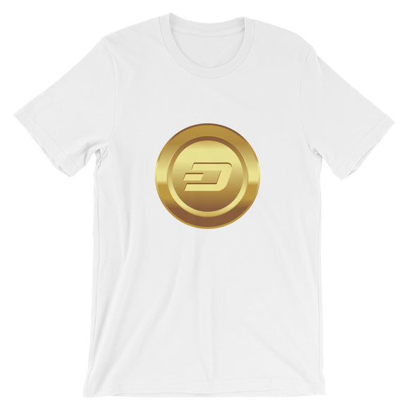 Dogecoin cryptocurrency Short-Sleeve Unisex T-Shirt