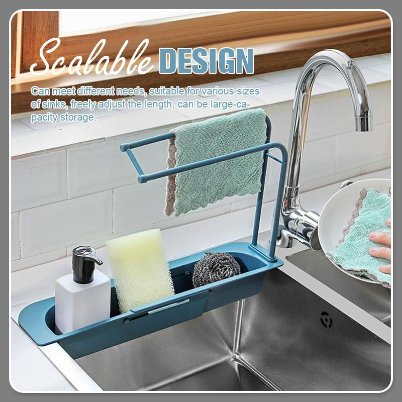 Telescopic Sink Storage Rack - 7 Bess