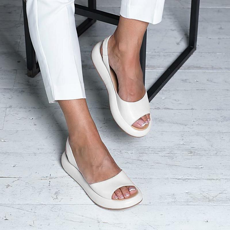 2020 Leather Sandals - 7 Bess