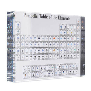 🔥Hot Sale🔥Collectable Periodic Table with REAL Elements - 7 Bess