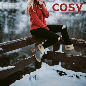 High Quality Cosy Winter Warm Snow Suede Boho Boot - 7 Bess