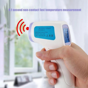 LIMITED QUANTITES - Non-contact Digital Laser Infrared Forehead Thermometer - Free Shipping - 7 Bess