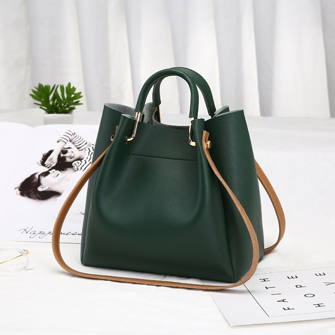 New Simple Tote Woman Bag Shoulder Bag Bill of Lading - 7 Bess