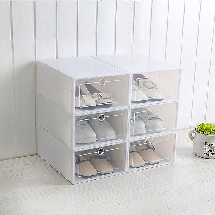 Hurry up! Last day promotion price 07:58:25.4 60% OFF- Neatly Stackable Shoe Racks Organizer - 7 Bess