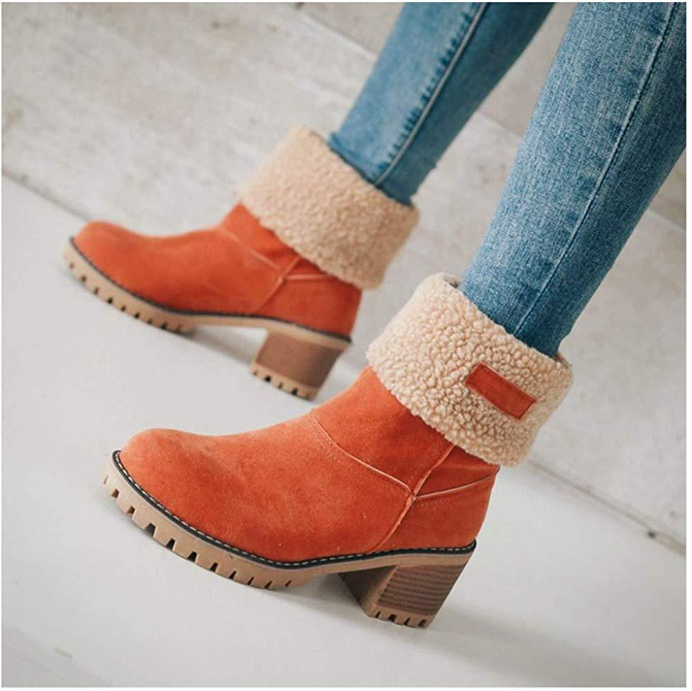 🔥Hot Sale🔥-2019 New Suede Snow Chunky Boho Boots (Buy 2 Get Free Shipping) - 7 Bess