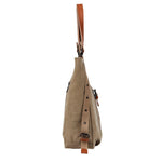 7BESS™ Canvas Backpack-Shoulder Bag with Extra Large Capacity - 7 Bess