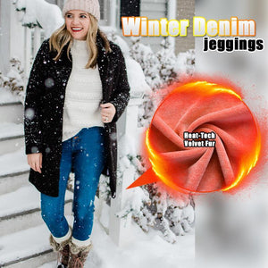 Winter Denim Jeggings - 7 Bess