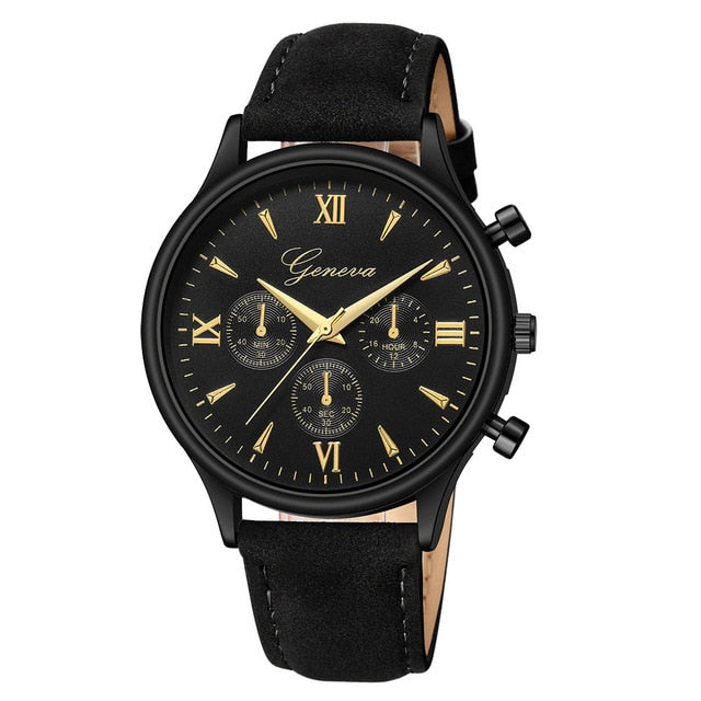 Hearty 2019 New Fashion Men Date Alloy Case Synthetic Leather Analog Quartz Sport Watch Mens Watches Top Brand Luxury Masculino Reloj Quartz Watches Watches