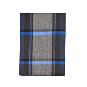 NUEVO! Bufanda larga Begg & Co City Urban Plaid Blue