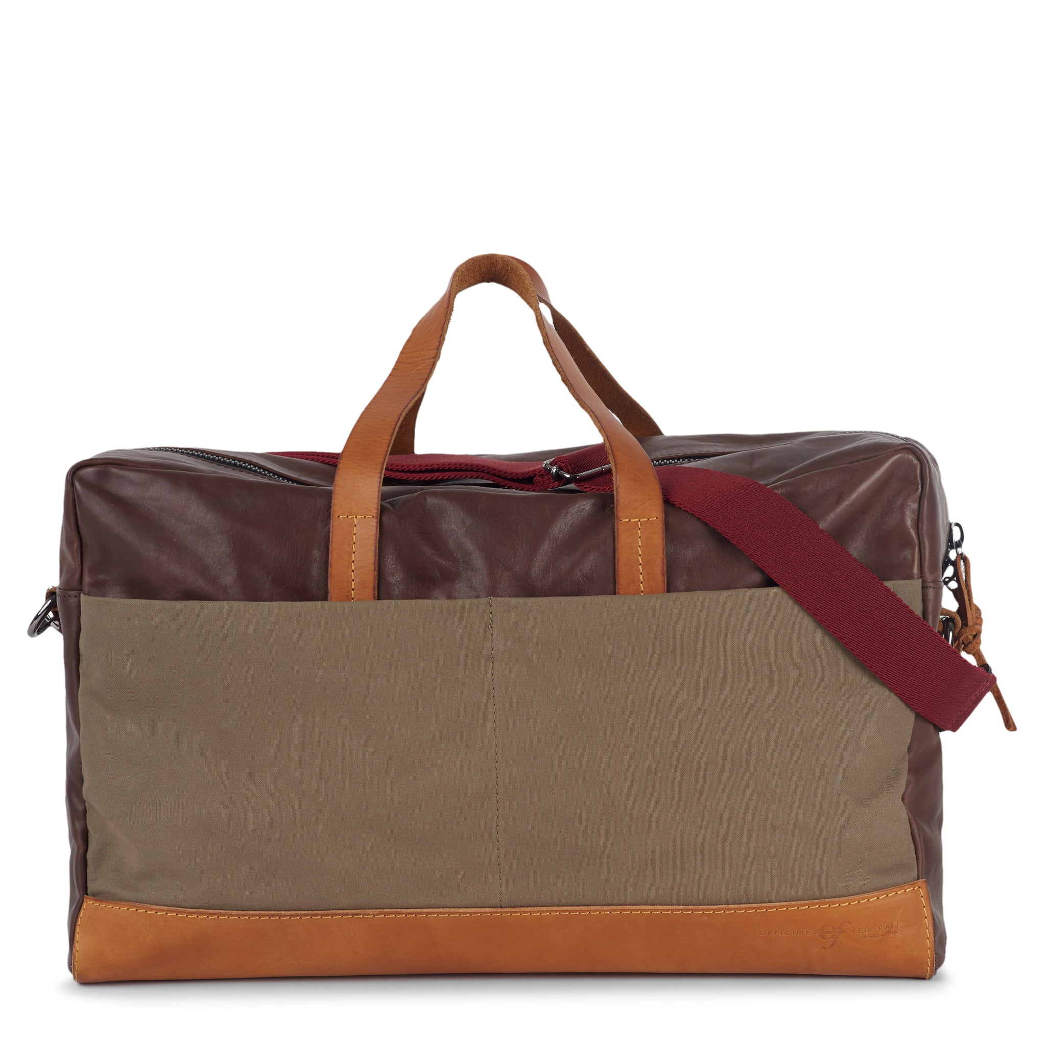 Bolsa Weekend Bag Brown Green