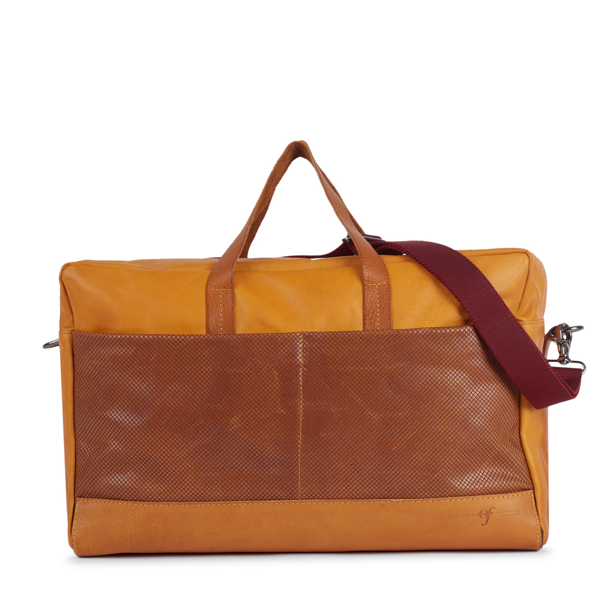 Bolsa Weekend Bag Laser Honey