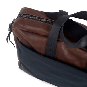 Bolsa Briefcase Black Brown