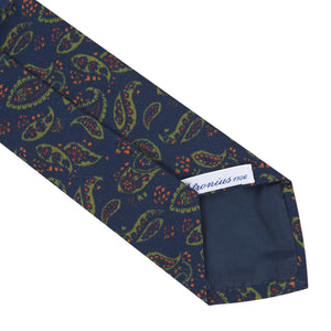 Corbata Irish Popeline Navy Blue
