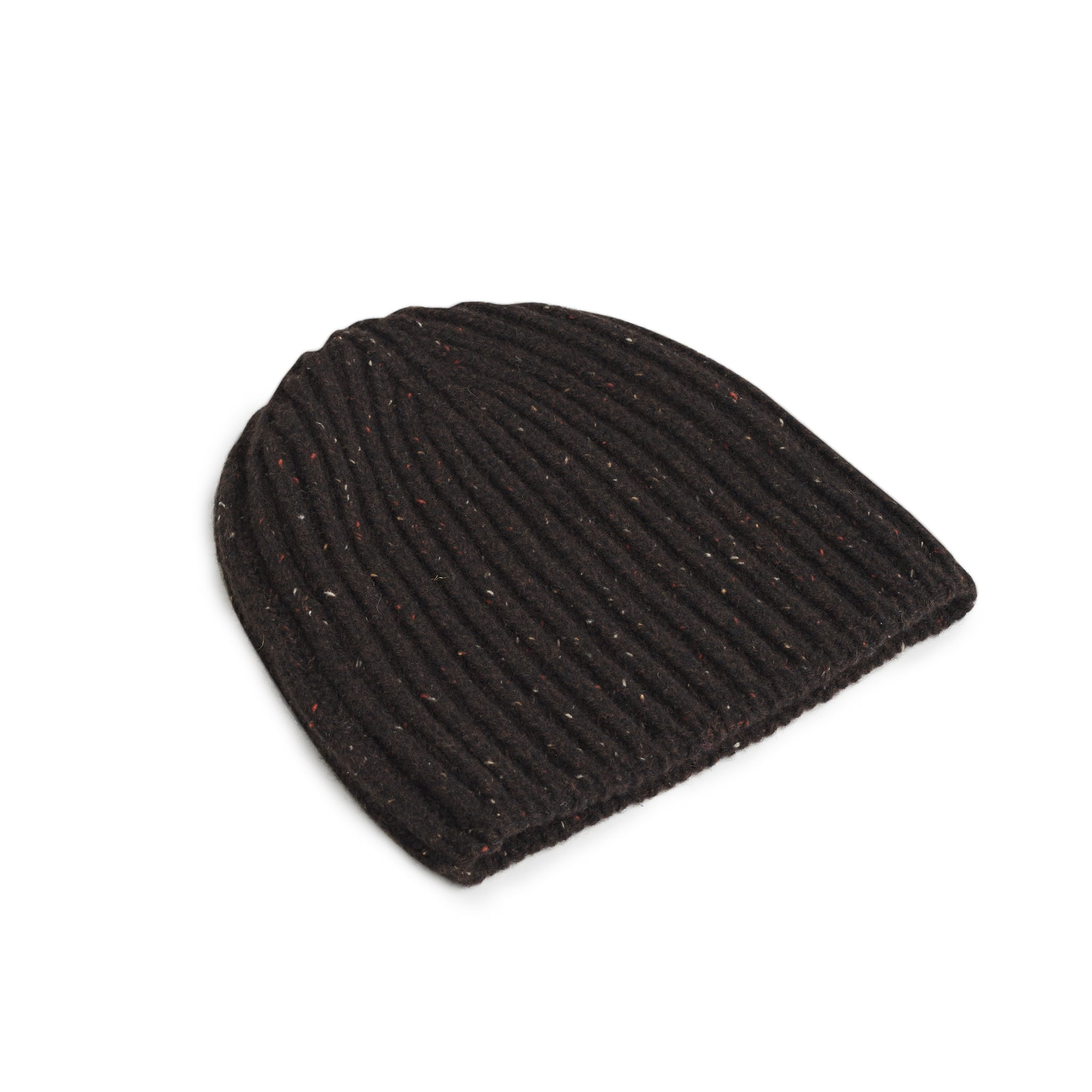 Gorro lana Donegal marrón chocolate