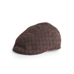 Gorra Henry Harris Tweed 17045 marrón