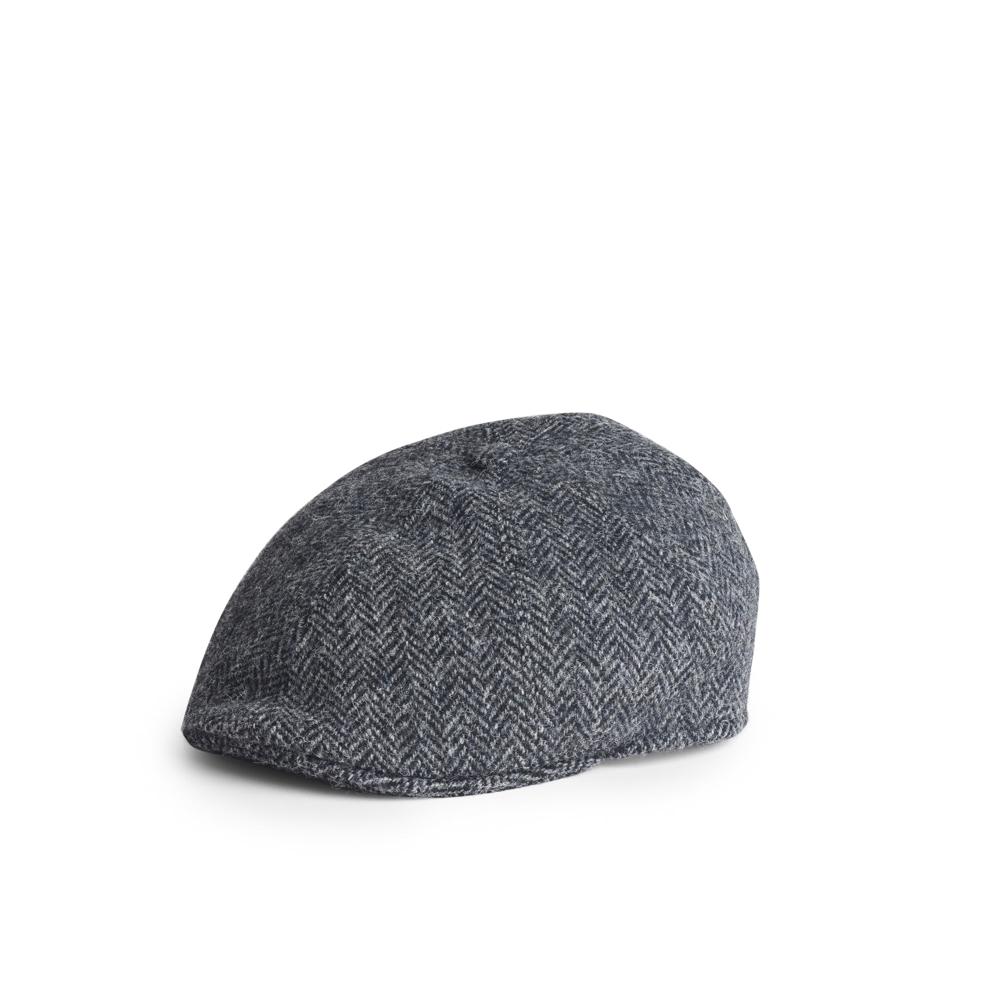 Gorra Henry Harris Tweed Herringbone gris