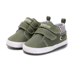Canvas Two Strap Sneakers