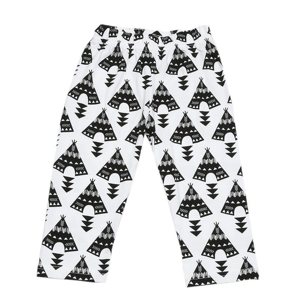 Geometric Pattern Clothing Set