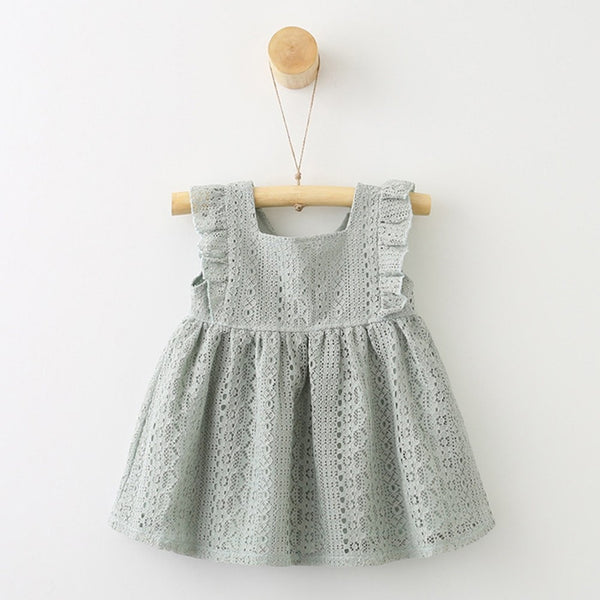 Lace Ruffles Princess Dress