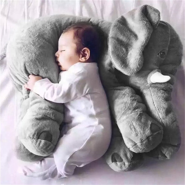 Elephant Soft Baby Pillow
