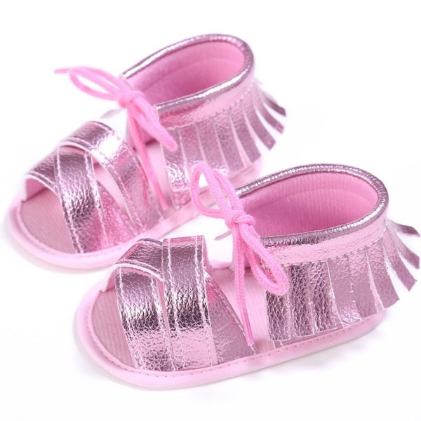 Summer Tassel Baby Shoes