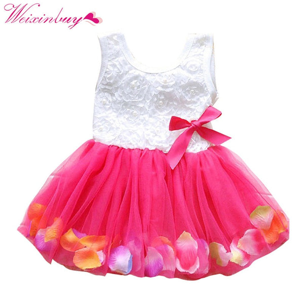 Mesh Bow Princess Dress