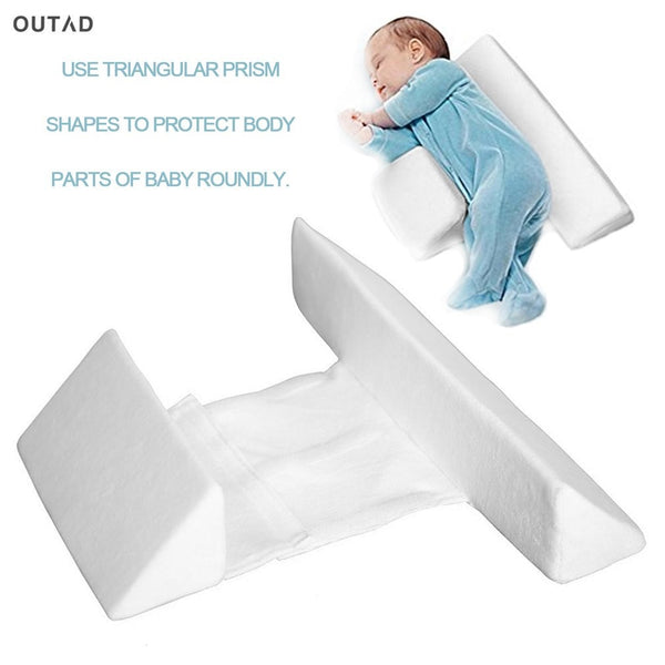 Newborn Sleep Anti Roll Pillow