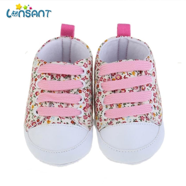 Canvas Floral Shoes