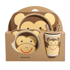 5 Pcs Baby Feeding Set