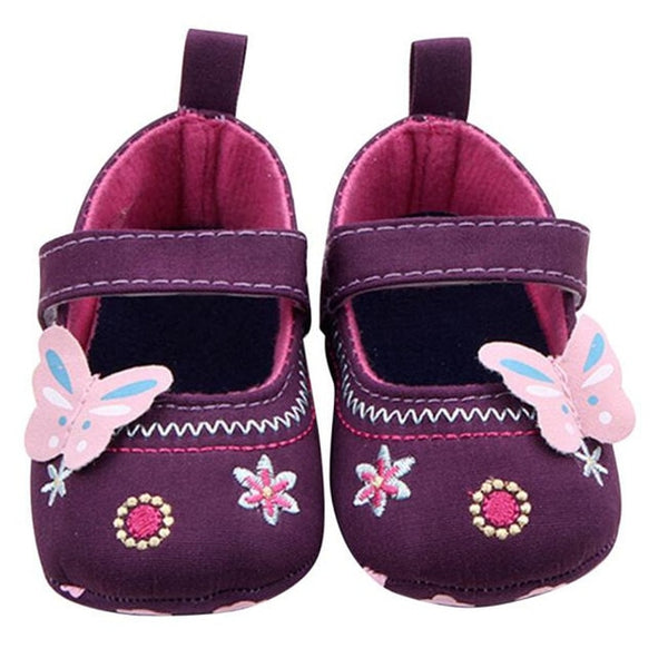 Butterfly Soft Sole Shoes