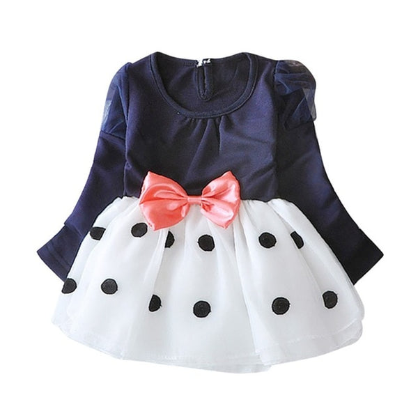 Cute Dot Evening Dress