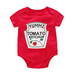 Cute Newborns Cotton Rompers