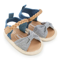 Dotted Lace Baby Sandals