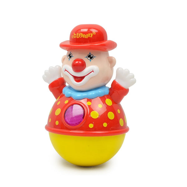 Funny Clown Tumbler Toy