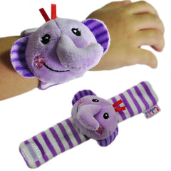 Soft Plush Wrist Rattles Toy