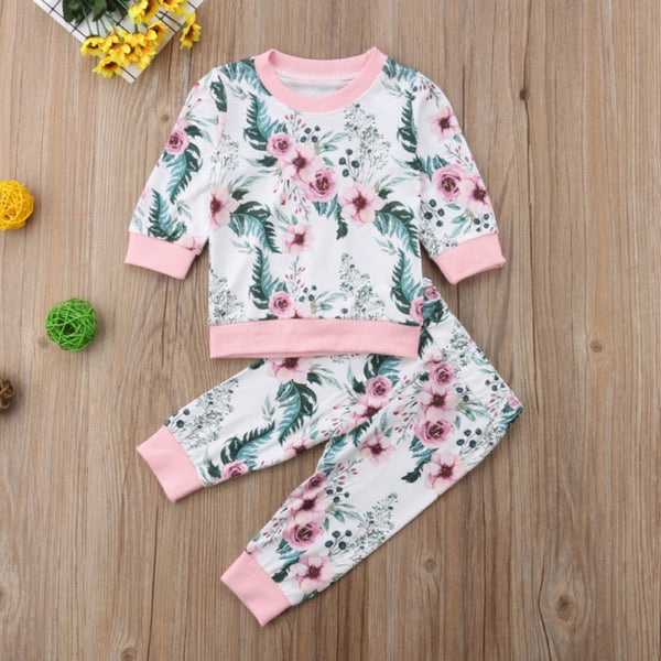Spring Girl Clothing Set
