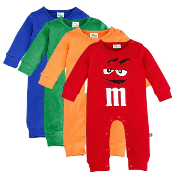 Cartoon Cotton Rompers