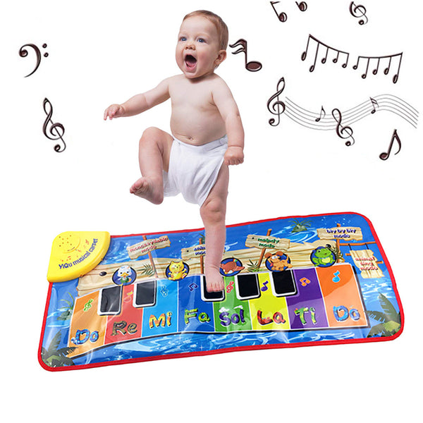 Cartoon Keyboard Musical Mat