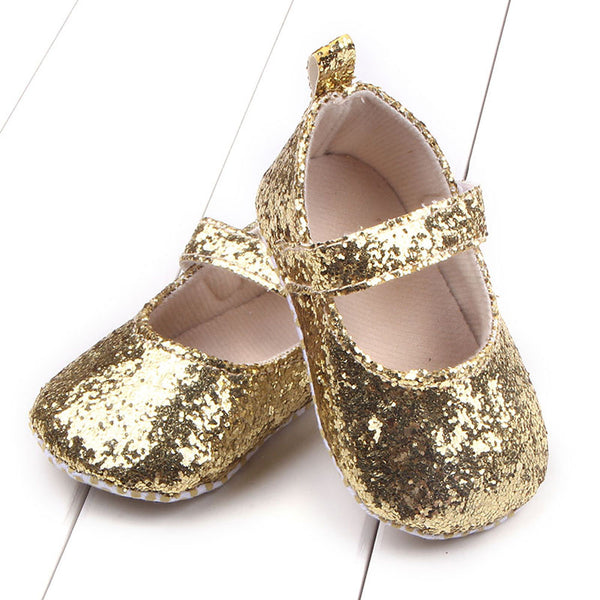 Sequins Crib Shoes