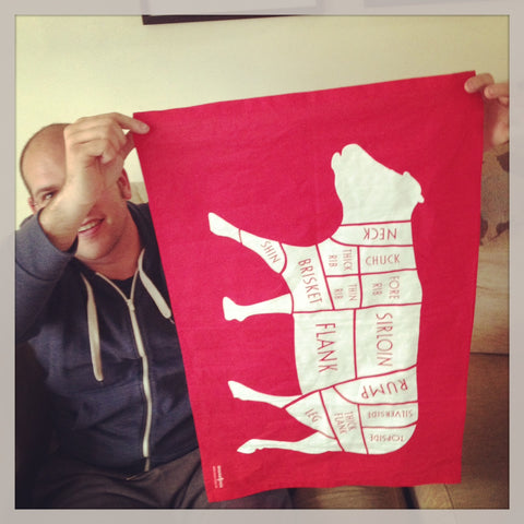 How to make a chicken out of a kitchen tea towel - coconutgrass