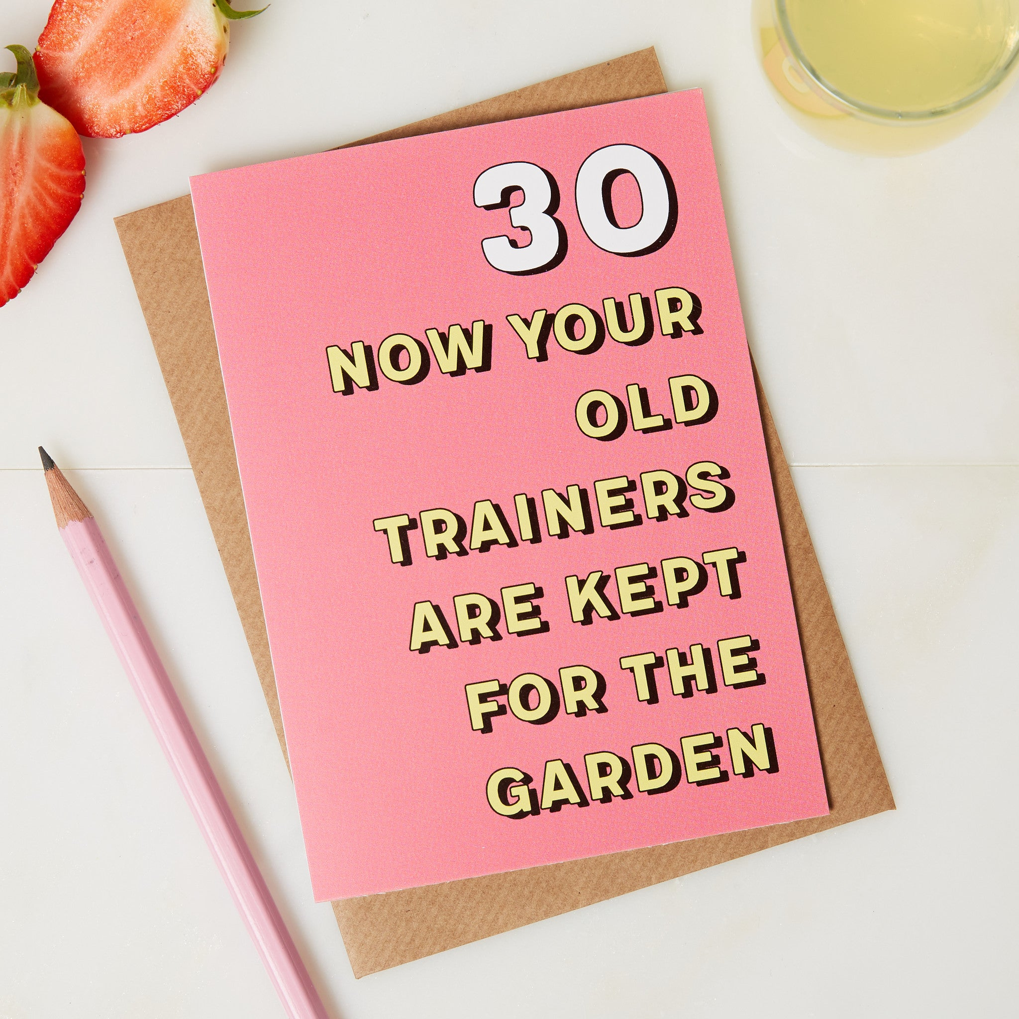 Funny 30th Birthday Card Shoes for gardening card coconutgrass