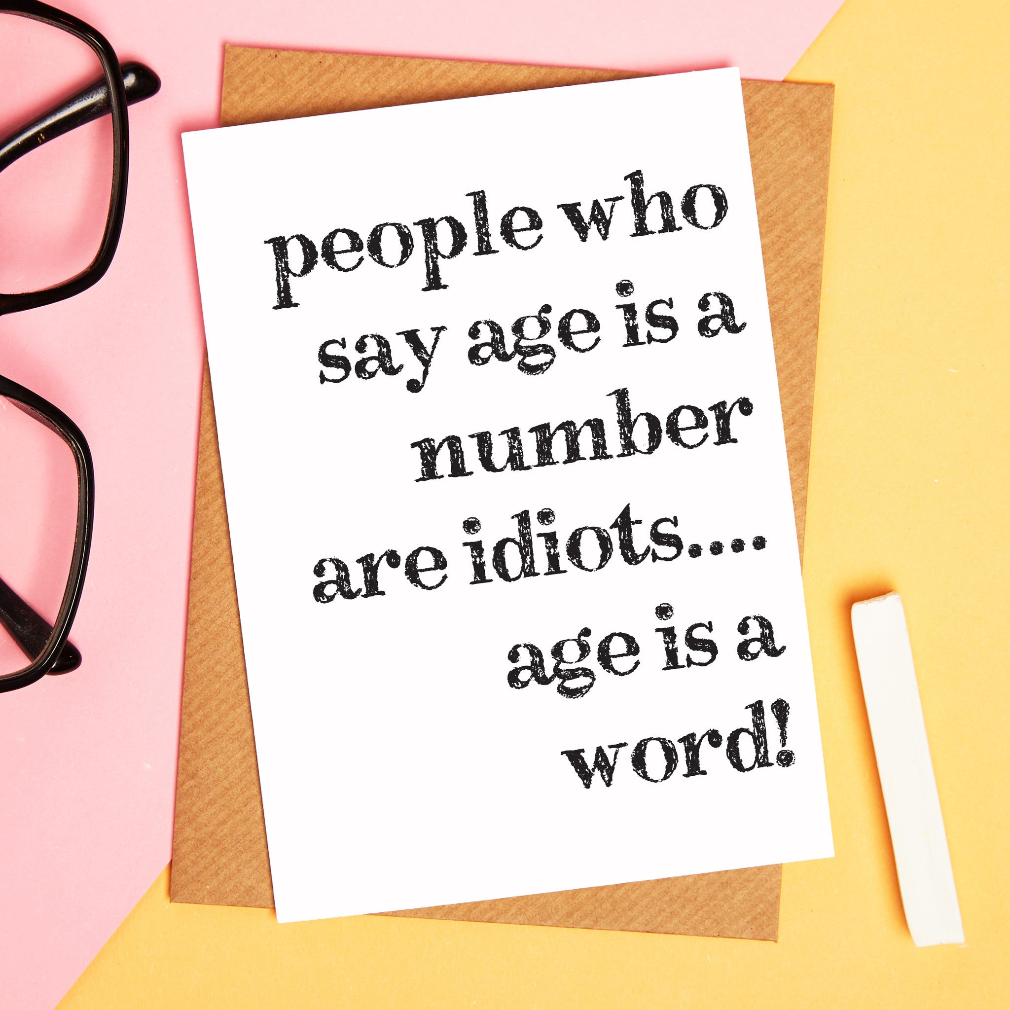 Greetings cards coconutgrass funny birthday card age is a number funny card bookmarktalkfo Choice Image