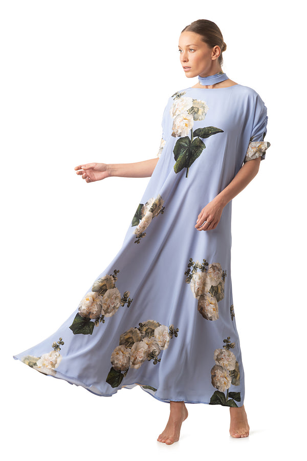 Long occasion dress sky blue - Castlebird Rose
