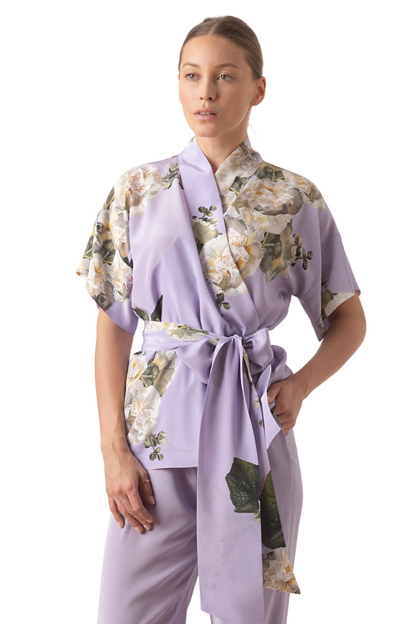 Wrap top lavender - Castlebird Rose