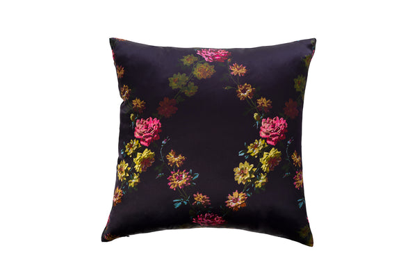Silk Cushion ''Paris 1927'' - Castlebird Rose