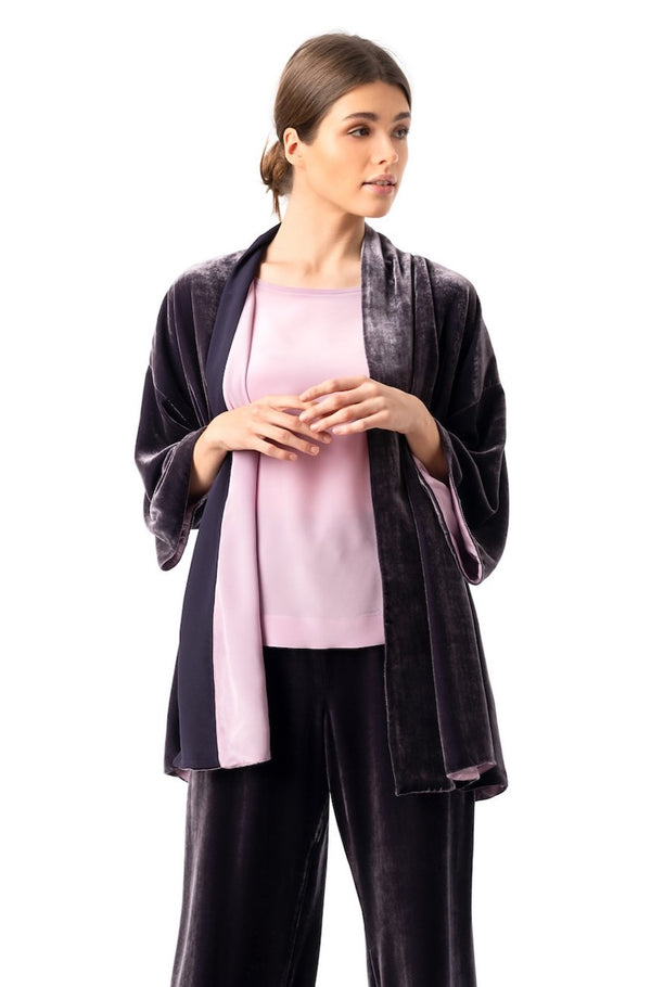 Blazer deep purple ''Velvet weekend'' - House of Castlebird Rose