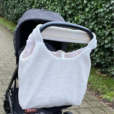 - Teddy Mom Bag - White -
