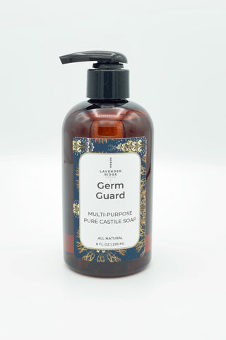 Castile All Purpose/Hand Soap - Germ Guard