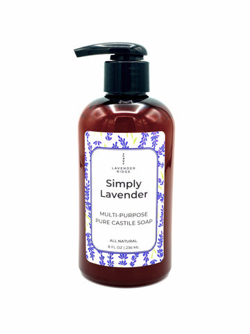 Castile All Purpose/Hand Soap - Lavender